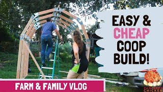 Gambar cover Chicken Coop Duck House Build Time Lapse Part 1