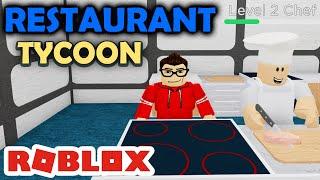 Opening MY FIRST RESTAURANT-Restaurant Tycoon Roblox #01