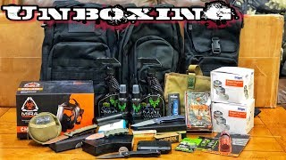 Unboxing! Camping • Hunting • Survival Gear