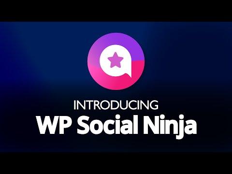 Introducing WP Social Ninja: The Best Social Media Plugin for WordPress