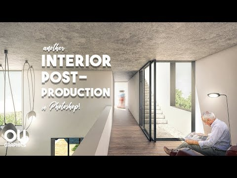 How to: Interior Architecture Post-production in Photoshop!