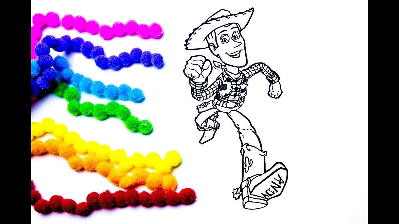 История игрушек 4 мультик - раскраска | Ковбой Вуди ...