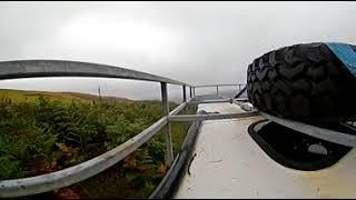 Rhondda lane vr 360 cam mounted on  defender 90