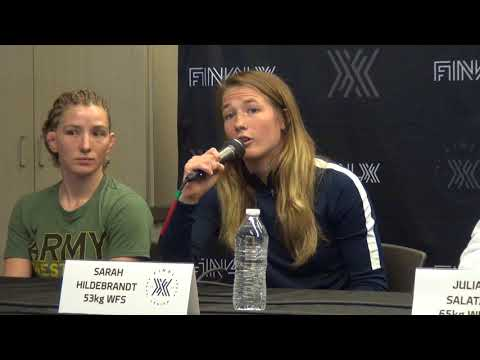 Final X at Lehigh Women's Freestyle Press Conference