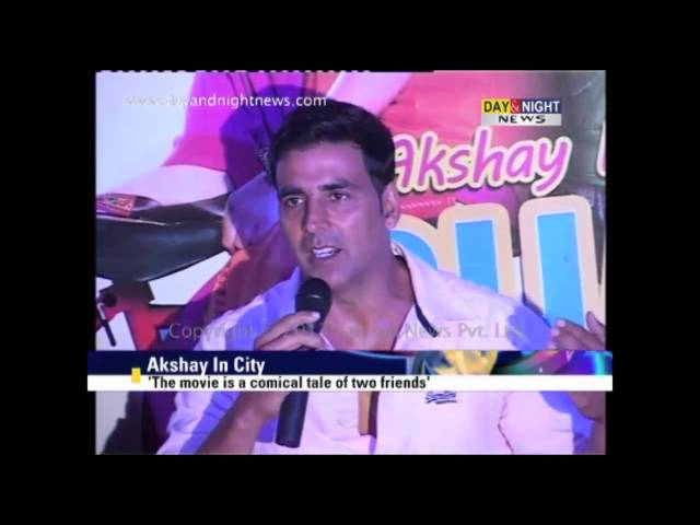 Akshay Kumar promotes 'Bhaji In Problem' | Gippy Grewal | Latest Punjabi Movies Travel Video