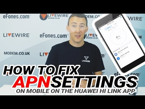 HOW TO SETUP APN SETTINGS For Mobile Wi-Fi's On The HUAWEI HI LINK APP | Modem Mitch Episode 2