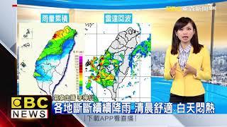 氣象時間 1080421 早安氣象 東森新聞
