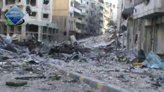 جولة في حي جورة الشياح للوقوف على اثار الدمار خلال عام ونصف من القصف الهمجي