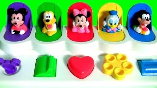 Disney Baby Mickey Mouse Clubhouse Pop Up Pals Surprise with Minnie Goofy Pluto Donald