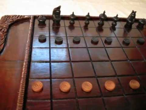 Rare Thai Chessboard for Makruk, the Chess of Thailand (Ouk, Cambodian Chess) - AncientChess.com