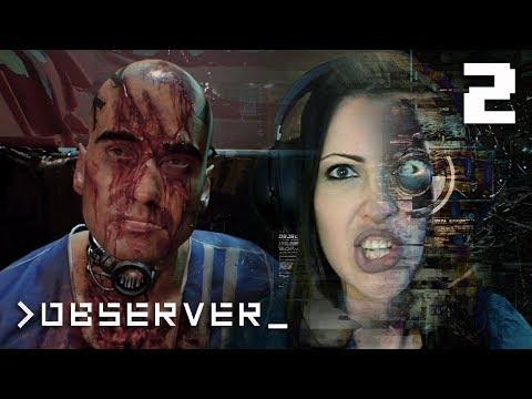 OBSERVER Walkthrough Part 2 - First Mind Trip