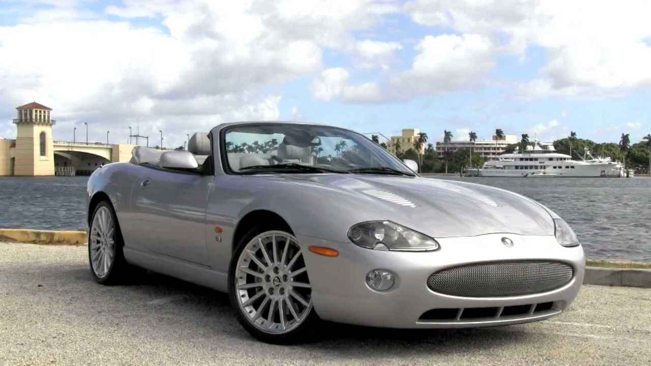 2005 Jaguar XKR Convertible Platinum Autos Of Palm Beach A2903