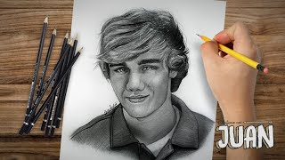 One Direction - Drawing Liam Payne By Juan Andres