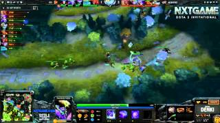 GIGABYTE.Mineski vs First Departure (NXTGAME Invitational Dota 2) Game 1 - DENKI & LON