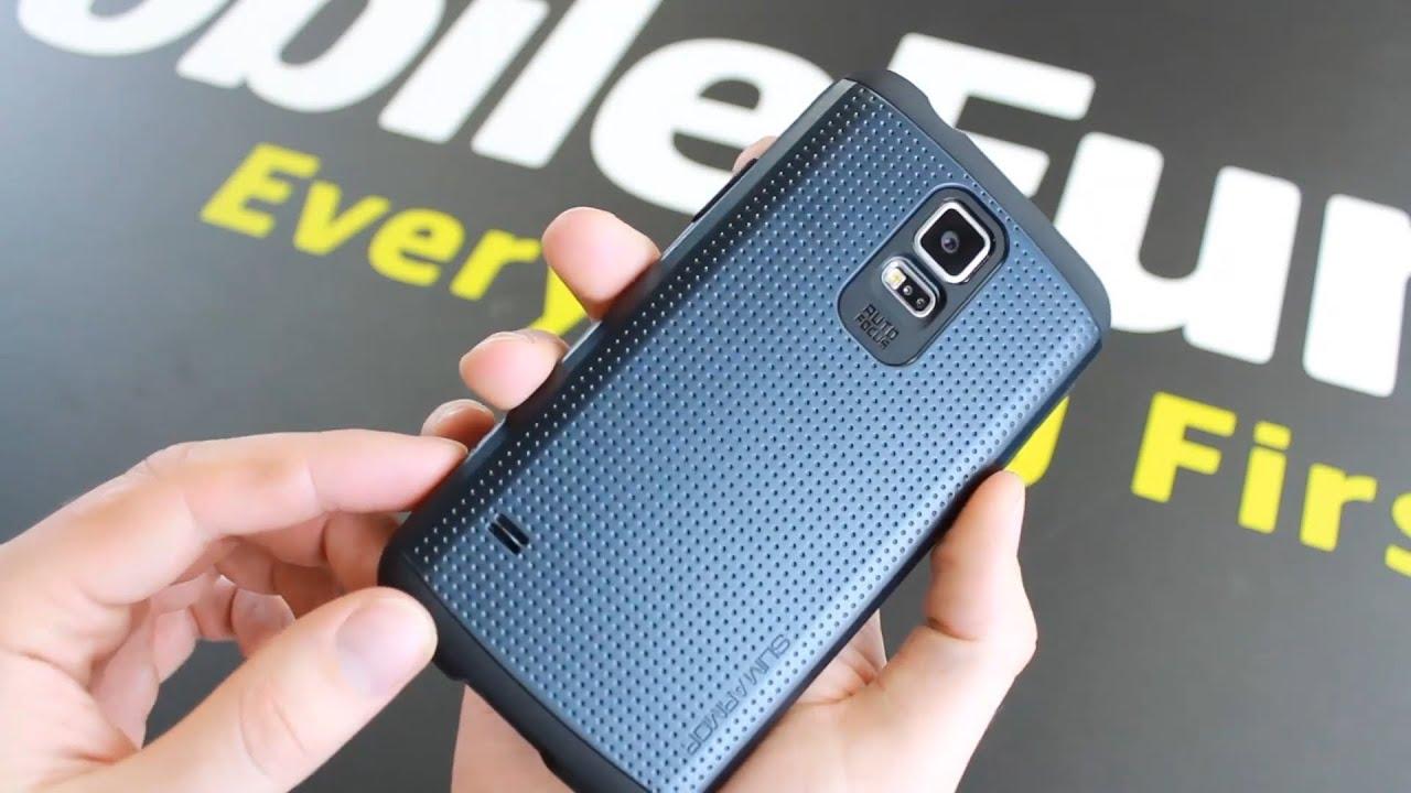 buy popular b59f1 639d4 Spigen Slim Armor Samsung Galaxy S5 Case Review