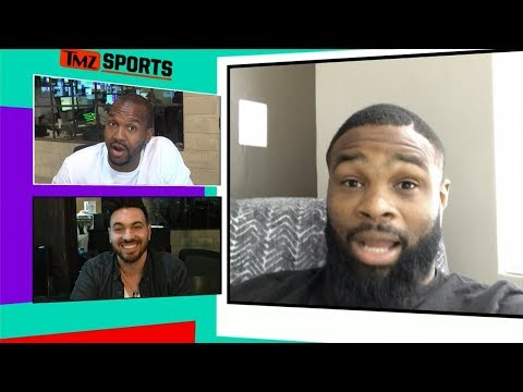 Tyron Woodley Says He's Going To Destroy Colby Covington | TMZ Sports
