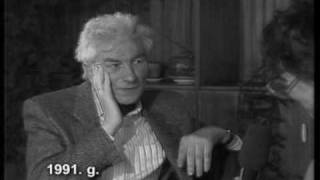 Imants Ziedonis par to, kas vajadzīgs, lai domātu, 1991.g.