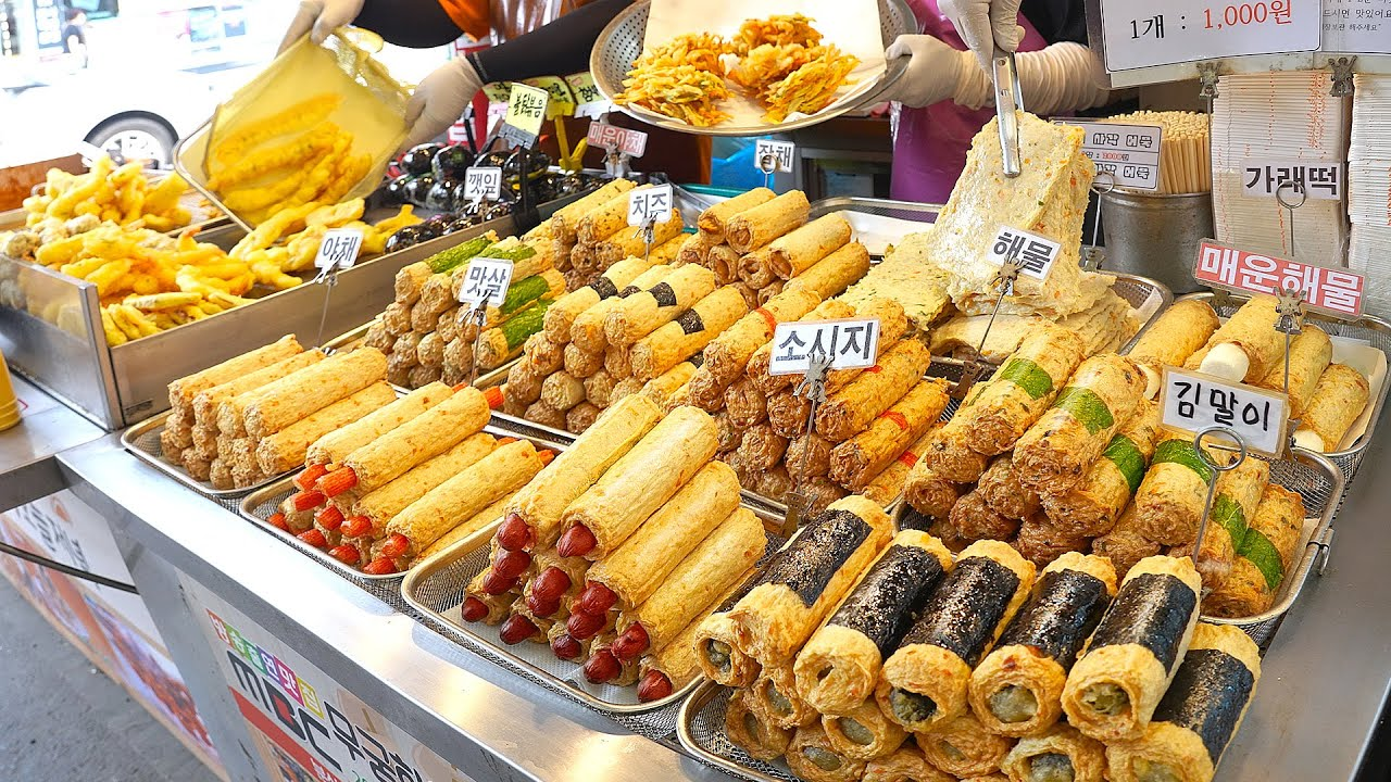 소세지, 치즈 왕핫바가 1000원? 하루 천개 넘게 팔린다는 어묵공장 사장님의 어육 듬뿍! 수제 어묵 분식집┃Various fish cakes / Korean street food