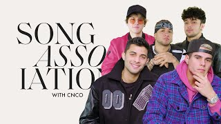 """CNCO Sings """"Mamita,"""" Camilo, and Billie Eilish in a Game of Song Association 
