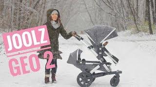 Joolz Geo 2 wózek dla dwójki dzieci (w pięknej scenerii :)) | Review, folding