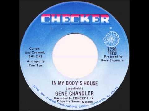 SOUL / FUNK 45t - GENE CHANDLER - In My Body's House - 1969
