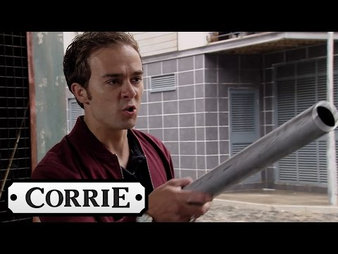 Coronation Street - Clayton Threatens To Kill David