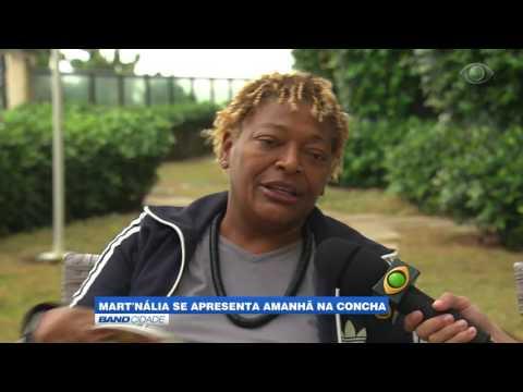 """Band Cidade - """"Mart'nália se apresenta amanhã na concha"""""""