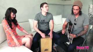 "Karmin - ""Brokenhearted"" & ""I Told You So"" (Perez Hilton Acoustic Performance)"