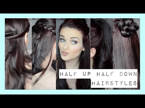 Quick Easy Half Up Half Down Hairstyles