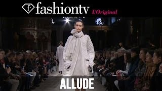 Allude Fall/Winter 2014-15 Runway Show | Paris Fashion Week PFW | FashionTV