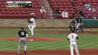 Baseball - No. 7 Northwestern 6, No. 2 Michigan 4 (Highlights)