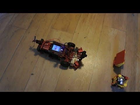 fischertechnik TXT controller : Discovery #105 - Sensors, sonar, trajectory, camera, ROBOPro, more