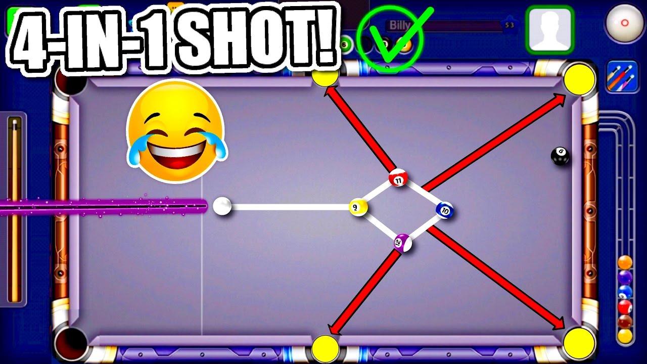 How? ALL BALLS 1 SHOT!! Top 10 Best Trickshots/Bankshots ...