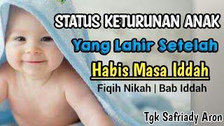 Bagaimanakah Status Anak Yang Lahir Setelah Habis Masa Iddah Bab Iddah Kitab Al Mahally