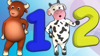 Numéros de morceau | Enseigner les numéros | chansons pour les enfants | Numbers Song  1 to 30