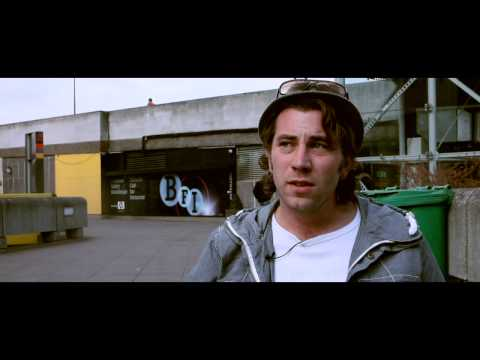 FLIM THE MOVIE... Clip - Bryce Llewellyn, South Bank, London, Interview 204(j)
