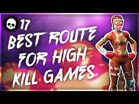 Best Route/Map Rotation For High Kill Games In Fortnite! (Console Battle Royale Tips)