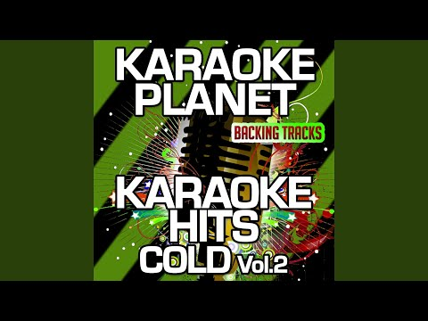 Sad Happy (Karaoke Version With Background Vocals) (Originally Performed By Cold)