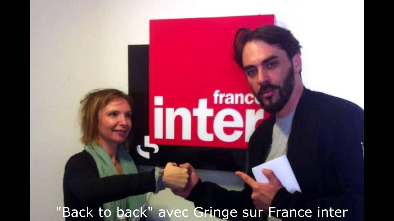interview de gringe sur france inter back to back 6 juillet 2016 youtube. Black Bedroom Furniture Sets. Home Design Ideas