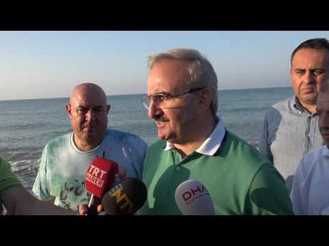 Antalya Valisi Münir KARALOĞLU Caretta Caretta'larında Valisiyim.