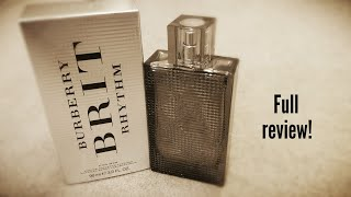 Burberry Brit Rhythm Intense - Full review