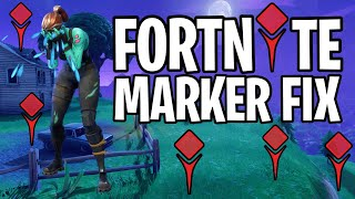 How To Stop Marker From Randomly Placing In Fortnite | Works For All Platforms