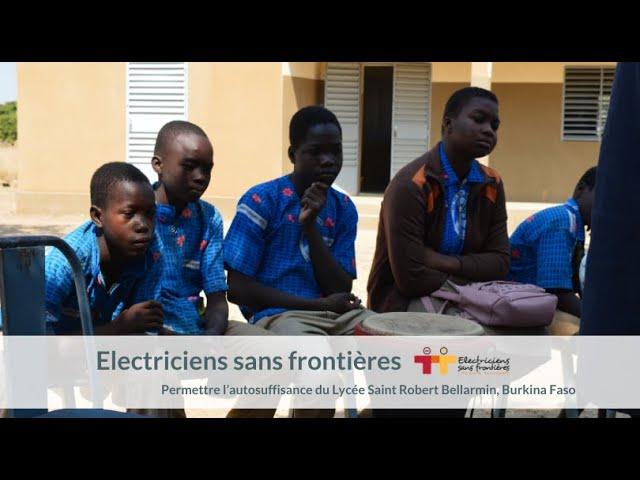 SAUREA EN PARTENARIAT AVEC ESF AU BURKINA FASO 💧