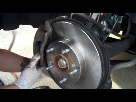 Brembo Brake Pads >> Civic Brake Pad and Rotor DIY (Front) 8th Gen. 2006 EX ...