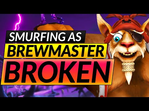 How to RANK UP with EVERY HERO - SECRETLY BROKEN BREWMASTER SMURF ANALysis - Dota 2 Guide