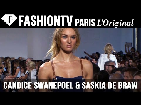 Models Candice Swanepoel & Saskia de Brauw | Beauty Trends for Spring/Summer 2015 | FashionTV