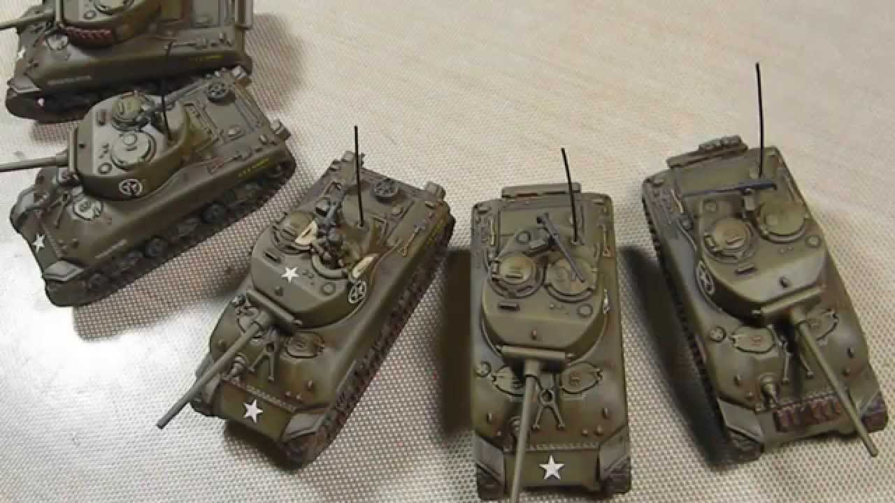 How to Paint 15mm Sherman Tanks