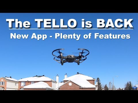 The TELLO has a New App & it is Amazing!