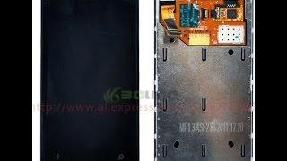 Дисплей для Nokia Lumia 800 из Китая(Распаковка посылки из Китая - дисплей для Nokia Lumia 800 за 30$. Оказалось не работает сенсор. Покупал здесь: http://ru.al..., 2015-08-07T15:54:29.000Z)
