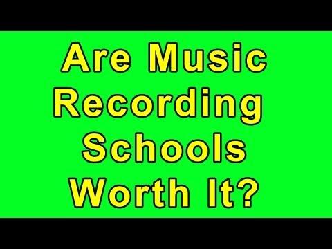 Are Audio/Music Schools Worth It?